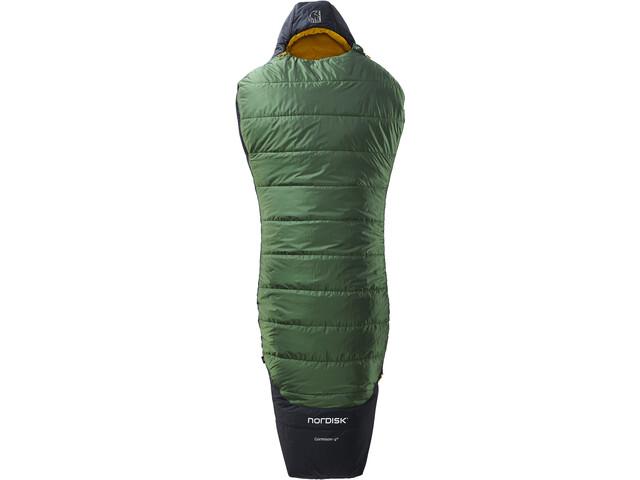 Nordisk Gormsson -2° Curve Sacco a pelo L, artichoke green/mustard yellow/black